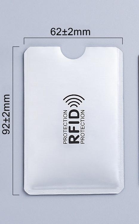 Анти RFID визитница NFC Блокировка от считывания