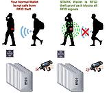 Анти RFID визитница NFC Блокировка от считывания, фото 3