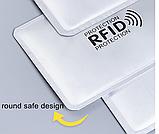 Анти RFID визитница NFC Блокировка от считывания, фото 4