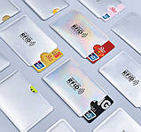 Анти RFID визитница NFC Блокировка от считывания, фото 5