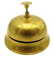 Колокольчик портье бронзовый (9х10,2х10,2 см)