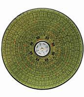 Компас  деревянный круглый (14 см)