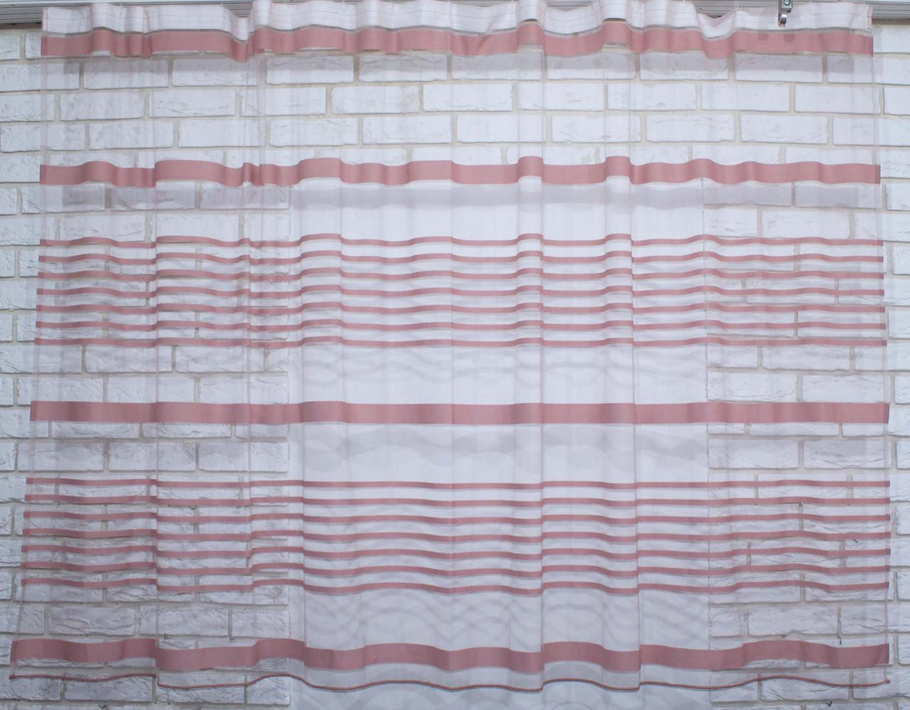 Кухонная тюль сетка высотой 1,58м. Код е823 (213т)