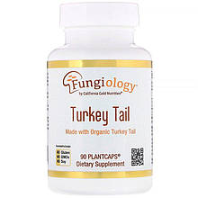 "Траметес California GOLD Nutrition, Fungiology ""Turkey Tail"" (90 капсул)"