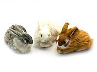 Кролик (натуральный мех)(13х9х6 см)