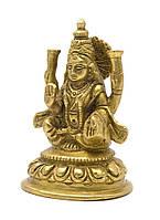 Лакшми бронза (10х7х5,5 см)(Laxmi Kamal med BL)