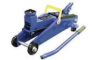 Домкрат Vitol гидравлический подкатной 2 т (чемод.) Макс. подъем 300 мм. ДП-20007К