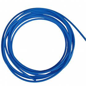 Тефлоновий подає канал Ø0.6-0.8 мм, довжина 3.4 м синій для напівавтоматичного зварювання алюмінієвої дротом