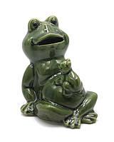 Лягушка керамическая (10х9х8 см)(9D082)