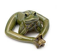 Лягушка керамическая (13,5х13х7 см)(21002)