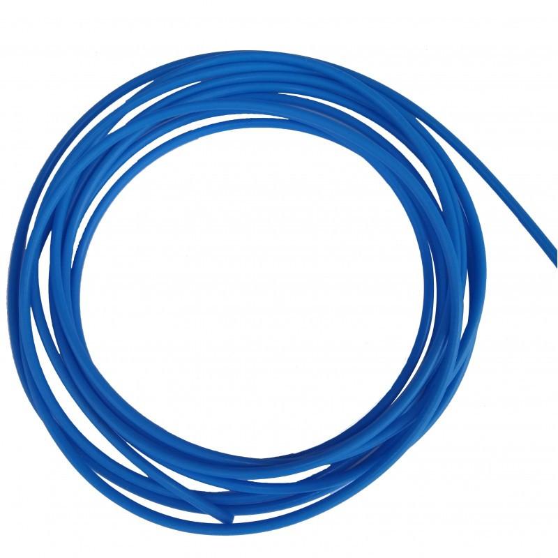 Тефлоновый подающий канал Ø0.6-0.8 мм, длина 4.4 м синий для полуавтоматической сварки алюминиевой проволокой