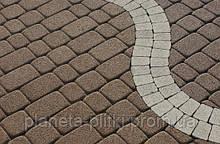 """Тротуарна плитка """"Римський камінь"""", сірий, 80 мм"""