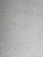 Обои виниловые на флизелине Grandeco A36104  ELENA метровые однотонные бирюзовые под ткань, фото 1
