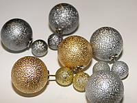 Серьги шарики от Диор