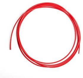 Тефлоновий подає канал Ø1.0-1.2 мм, довжина 3.4 м червоний для напівавтоматичного зварювання алюмінієвої дротом