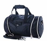 Дорожная сумка A108 black спортивная сумка, дорожная сумка, фото 1