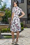 Женственное летнее платье с цветочным принтом 3523, фото 4