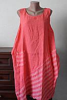 Платье женское карман полоска, фото 1