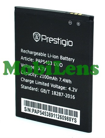 Prestigio 5453, MultiPhone 5453 Аккумулятор