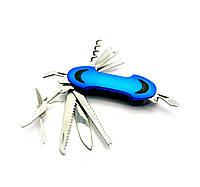 Нож складной с набором инструментов (KF5011LG2)(11 в 1)(9х3х2 см)