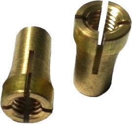 Латунний ніпель Ø4.0 для тефлонового подає каналу