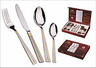 Набор вилок, ложек и ножей 24пр. PETERHOF ZL723GS DEBORA