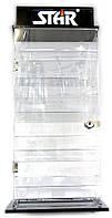 ПОД ЗАЛОГ Стенд для зажигалок (на 16 зажигалок)(43,75х22,5х12,5 см)(DC271)