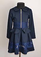 Детский костюм с юбкой на девочку 5-10лет, школьная форма 2019, фото 1