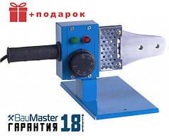 Сварочный аппарат для ПВХ труб, Паяльник для пласт труб BauMaster TW-7220S