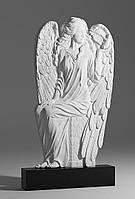 Надгробие с ангелом. Памятник резной Ангел с птенцом №211