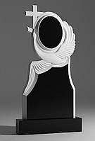 Элитные памятники фото Лебедь с крестом, фото 1