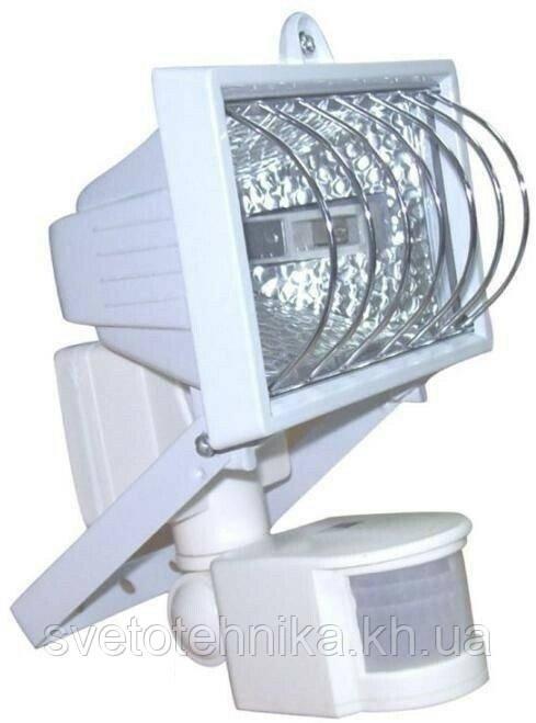 Прожектор галогеновий Ultralight PG 500 W білий з датчиком руху