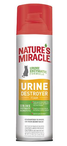 Пена-аэрозоль Nature's Miracle Cat Urine Destroyer