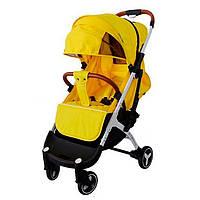 Коляска YOYA PLUS 3 Желтая (утепление и сумка для мамы в подарок) йойа плюс 3,бесплатная доставка