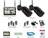 """Комплект WiFi видеонаблюдения Anran 2сh + 12"""" LCD (AR-W360), фото 5"""