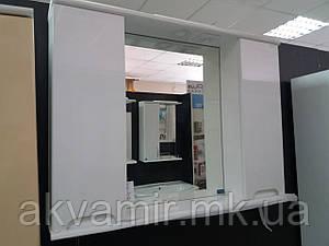 Зеркало в ванную Марко Николь 85 см (два шкафчика)