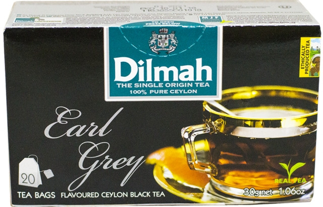 Чай Dilmah Граф Грей 20 шт х 1.5 г