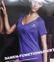Женская  футболка Crivit Activ sport фиолетовая S 40-46