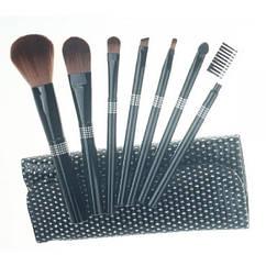 Набор кистей для макияжа 7 шт Make Up Me BL-GL-7
