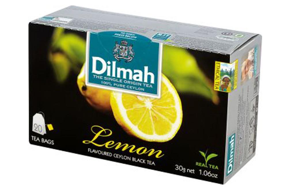Чай Dilmah Лимон 20 шт х 1.5 г