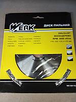 Диск пильный Werk 200x32 36 зуб.