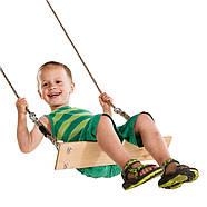 Набор для качелей FUN PACK : сидение, трапеция и гимнастические кольца, фото 3