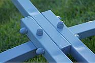 Гамак c рейками двухместный со стойкой WCG цветной XXL, фото 5