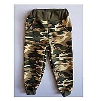 Спортивные штаны детские для мальчиков камуфляжные