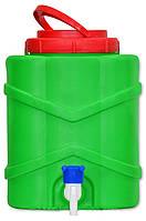 Пластиковый рукомойник умывальник ДМ для дачи 10 литров