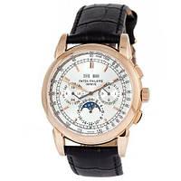 Наручные часы (в стиле) Patek Philippe AAA черный-золотой-серый