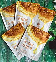 Маска-салфетка для лица с медом питательная
