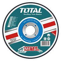 Круг шлифовальный по металлу 230х6.0х22.2мм TOTAL TAC2232301