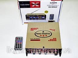 Усилитель Xplod SN-909AC - USB, SD-карта