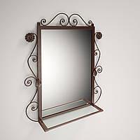 Зеркало кованное металлическое Ричмонд Tenero.Дзеркало коване металеве